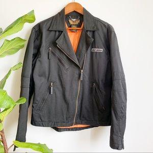 Harley Davidson Vintage Motorcycles Biker Jacket